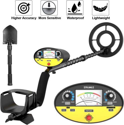 SAKOBS Metal Detector - Waterproof Metal Detectors