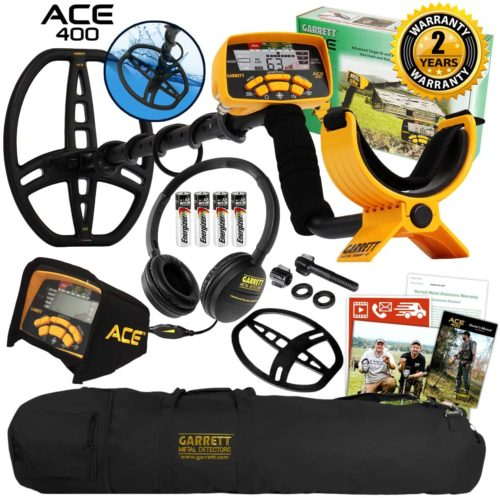 Garrett ACE 400 Metal Detector - Waterproof Metal Detectors