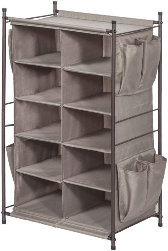STORAGE MANIAC 5-Tier 10-Compartment Cubby
