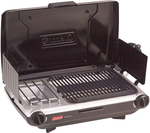 Coleman Camp Propane Grill/Stove - Portable Gas Grills