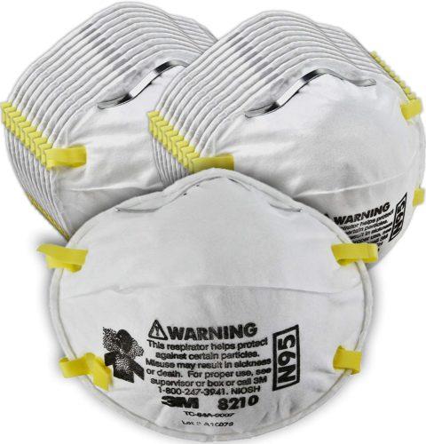 3M Particulate Respirator 8210 - N95 Masks