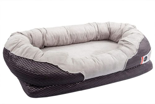 Barks Bar Gray Orthopedic Dog Bed