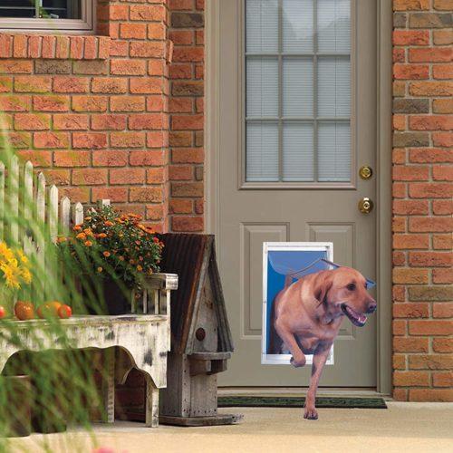 Ideal Pet Products Deluxe Aluminum Pet Door