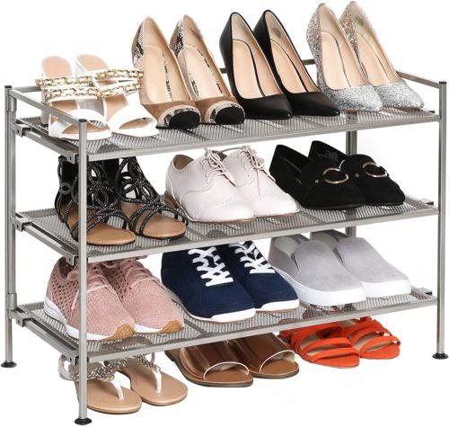 Seville classic shoe rack