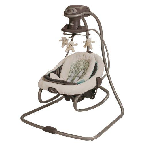 Graco Duet Soothe Swing & Rocker - Baby Swing Chair