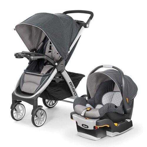 Chicco Bravo Trio Travel System - Lightweight Strollers