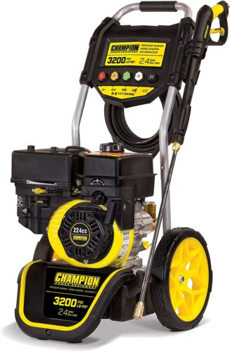 Champion Dolly-Style Gas Pressure Washer
