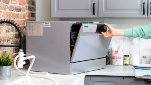 The difference between countertop dishwashers and dishwashers?