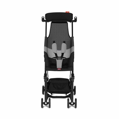 Gb Pockit Air All Terrain Velvet Black - Lightweight Strollers