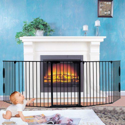 Fireplace Fence, Baby Safety Gate