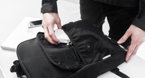 What can you put in your sling bag?