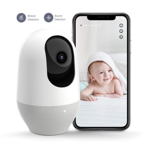 Nooie Baby Monitor, WiFi Pet Camera Indoor