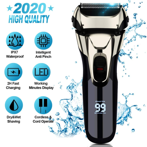Electric Razor, Electric Shavers for Men