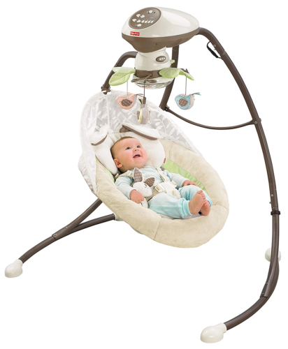 Fisher-Price My Little Snug bunny Cradle 'n Swing