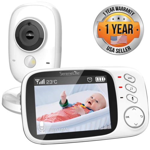 Video Baby Monitor Long Range Upgraded