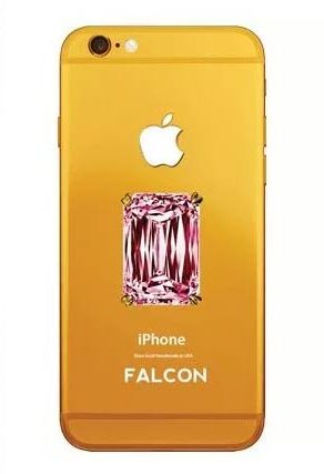 Falcon Supernova Pink Diamond iPhone 6 - $48.5 Million - Most Expensive Phones
