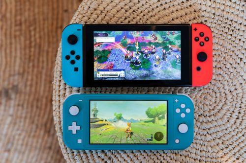Nintendo Switch vs. Nintendo Switch Lite