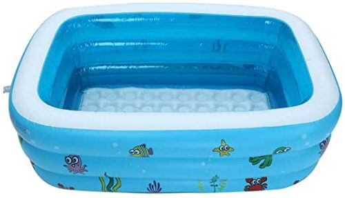 Weisfe78 Shipping from USA, Family Inflatable Pool