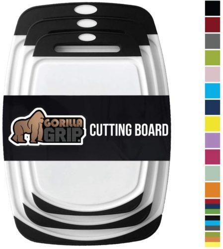 Gorilla Grip Original Oversized Cutting Board - Chopping Board