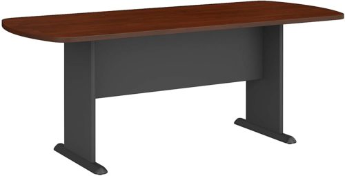 Bush Business Furniture Series A & C Oval Conference Table