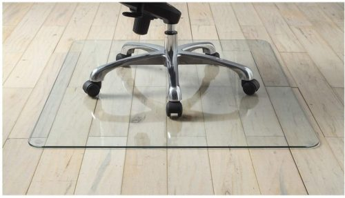 Premium Tempered Glass Chair Mat