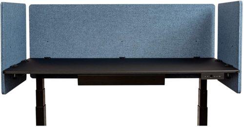 ReFocus Acoustic Rear Mount Desk Dividers - Office Partitions