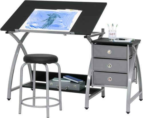 2 Piece Comet Art Drafting table
