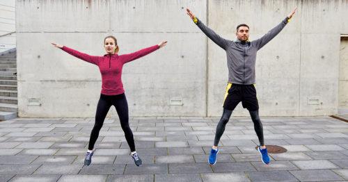 Star Jumps/Jumping Jacks Exercises