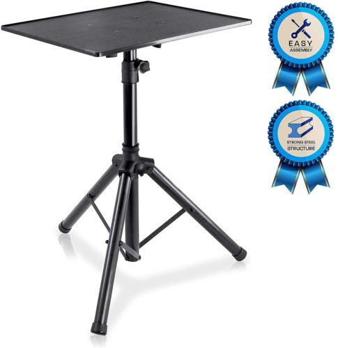 Pyle PLPTS3 Pro DJ Laptop and Projector Stand