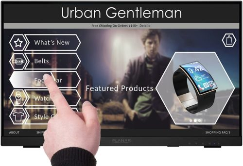 Planar Touch Screen Monitor