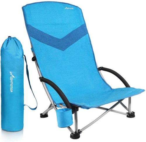 MOVTOTOP Folding Beach Chair