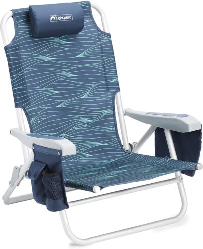 Lightspeed Reclining Beach Chair