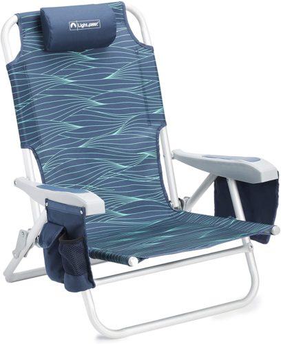 Lightspeed Reclining Beach Chair