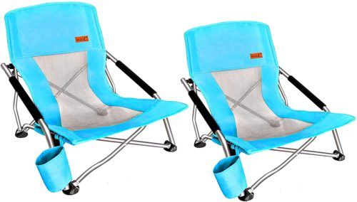 Nice C Low Beach Camping Folding Chair