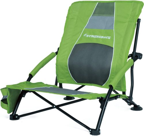 STRONGBACK Low Gravity Beach Chair