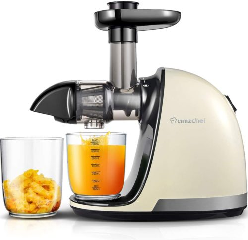 Slow Juicer, AMZCHEF Slow Masticating Juicer
