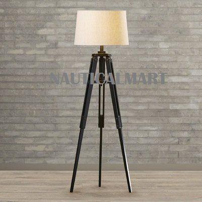 "Alencon 67"" Tripod Floor Lamp"