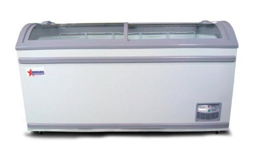 Omcan 31457 58-Inch Ice Cream Display Freezer