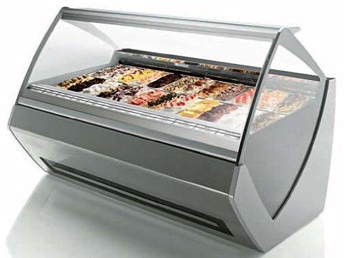 Ventura XP II Tecnica Gelato Ice Cream Showcase Display Freezer