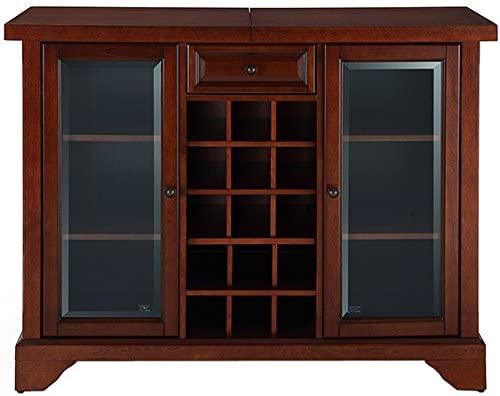 251 First Wellington Sliding Top bar Cabinet