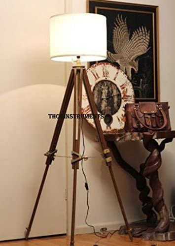 THORINSTRUMENTS Thor Vintage Classic Tripod Floor Lamp