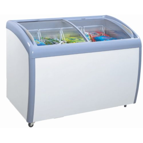 Atosa MMF9109 Angle Curved Top Chest Freezer