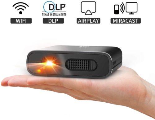 Artlii Portable DLP Projector Mini Projector
