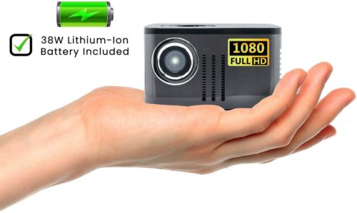 AAXA P7 Mini Projector with Battery