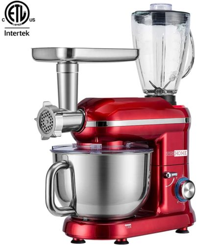 VIVOHOME 3 in 1 Multifunctional Stand Mixer