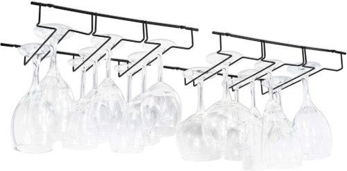 Wallniture Napa Stemware Wine Glass Hanger Rack