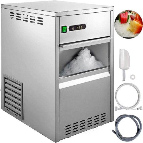 VBENLEM 88LBS 24H Snowflake Ice Maker Commercial Ice Machine