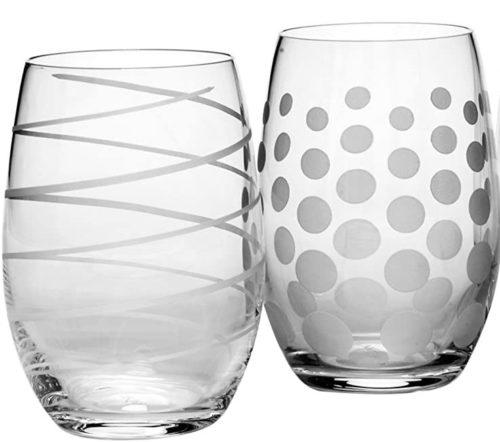 Mikasa Cheers Stemless Wine Glass