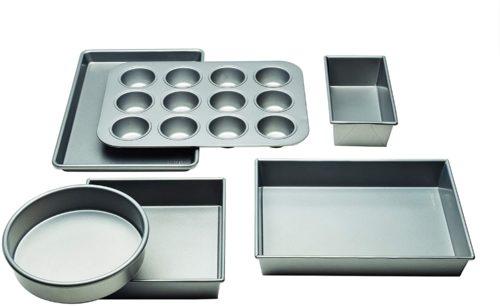 Chicago Metallic 5229028 Commercial - Non-Stick 6-Piece Baking Set