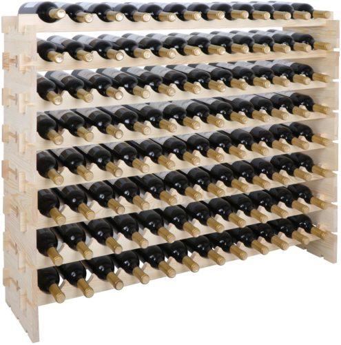 Smartxchoices 96 Bottle Modular Wine Rack